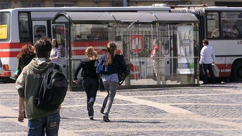 MHD, autobus, Bratislava, doprava