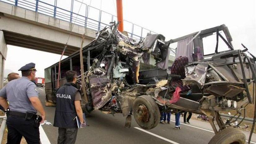 Nehoda slovenského autobusu v Chorvátsku