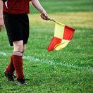 futbal, rozhodca