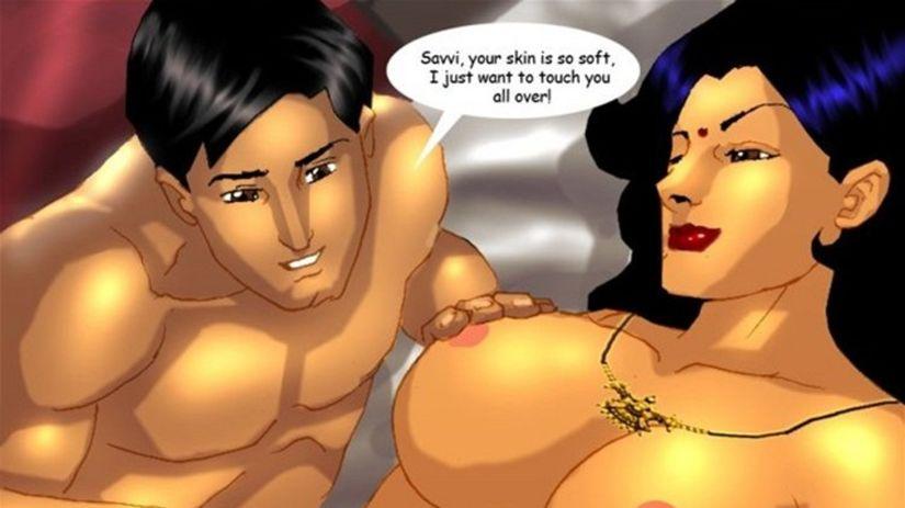 indický pornokomiks