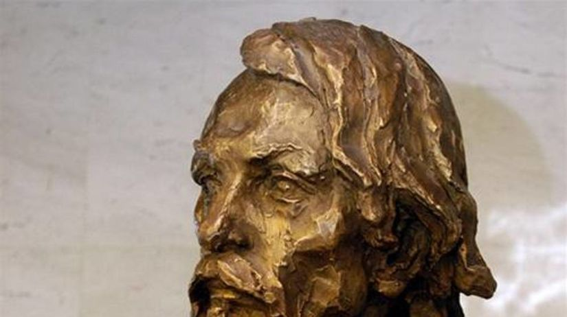 Busta Jozefa Miloslava Hurbana v parlamente