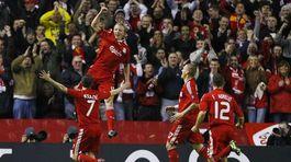 FC Liverpool, Kuyt, Keane, Škrtel