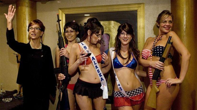 striptízová súťaž - Las Vegas - dvojníčky Sarah...