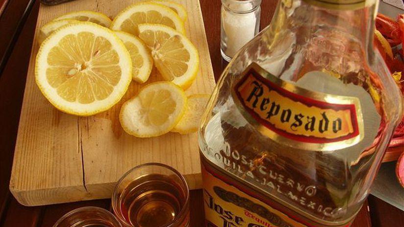 Tequila, alkohol