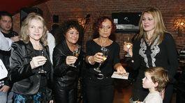Zľava: Eva Pilarová, Jitka Zelenková, Petra Janu a Júlia Hečková
