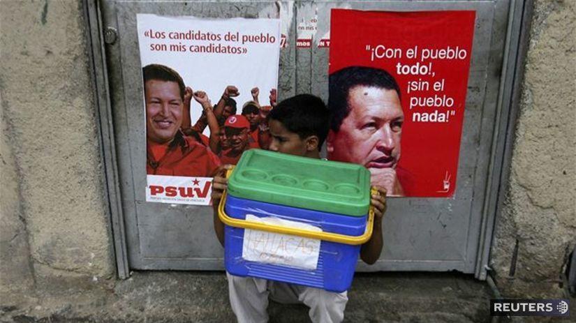 Venezuela, voľby, Chávez