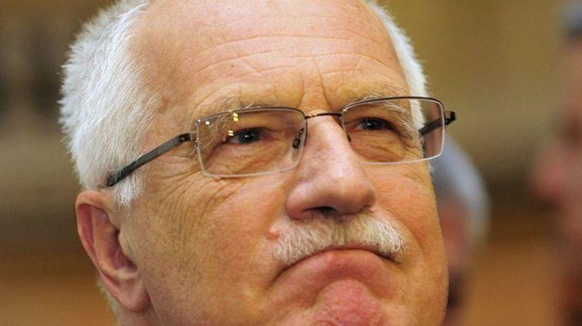 Český prezident Václav Klaus.