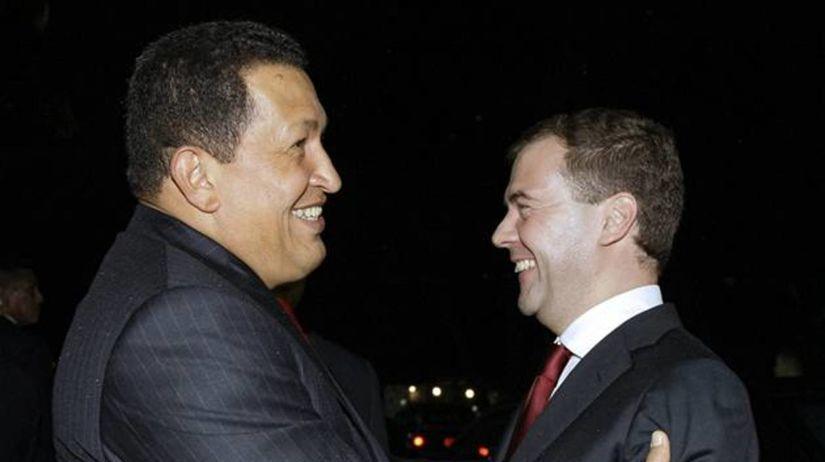Hugo Chávez, Dmitrij Medvedev