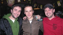 Zľava: Vladimír Kobielsky, Rasťo Kopina a Alexander Bárta