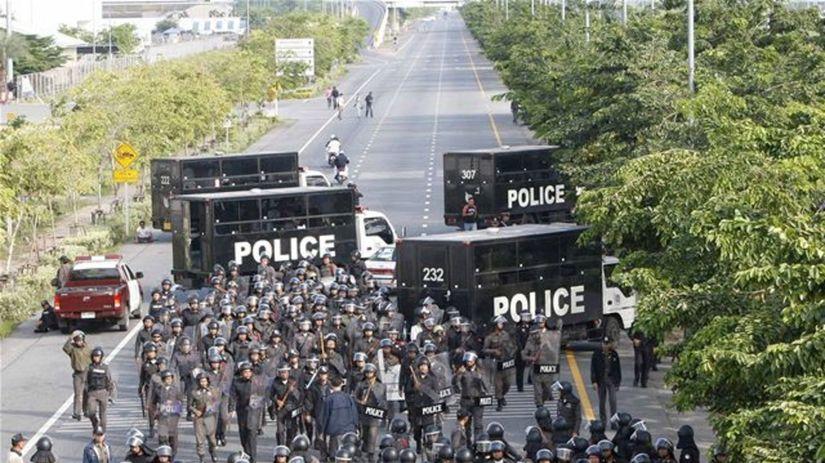 Napätá situácia v Thajsku počas demonštrácií