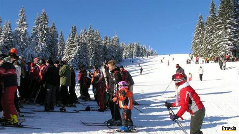 Martinky, lyžovanie, sneh