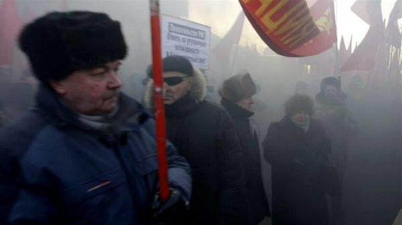 Demonštrácie v Rusku
