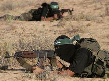 militanti, terorista, Gaza, Palestína, Hamas