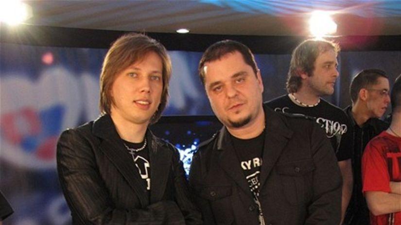 Peter Cmorik a Mário Kuly Kolár