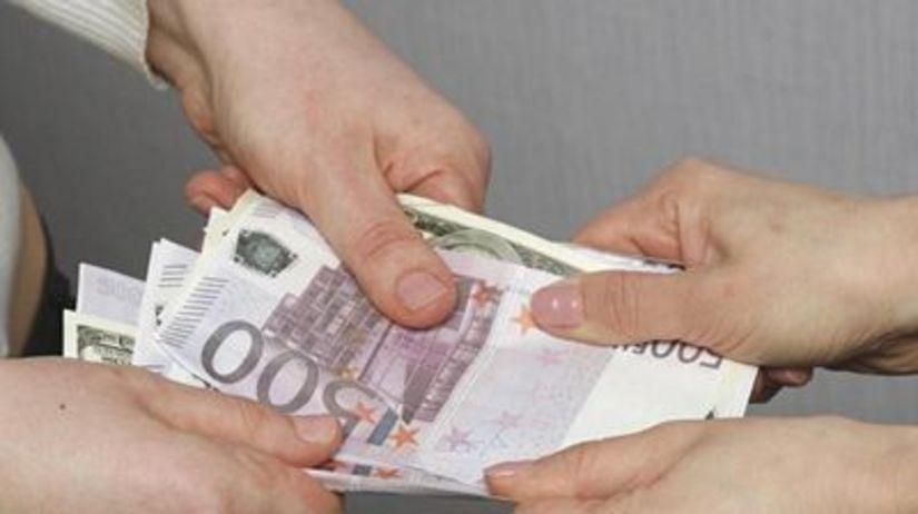 Mzda, plat, euro, peniaze