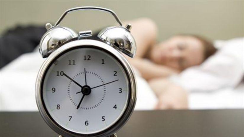spánok - budík