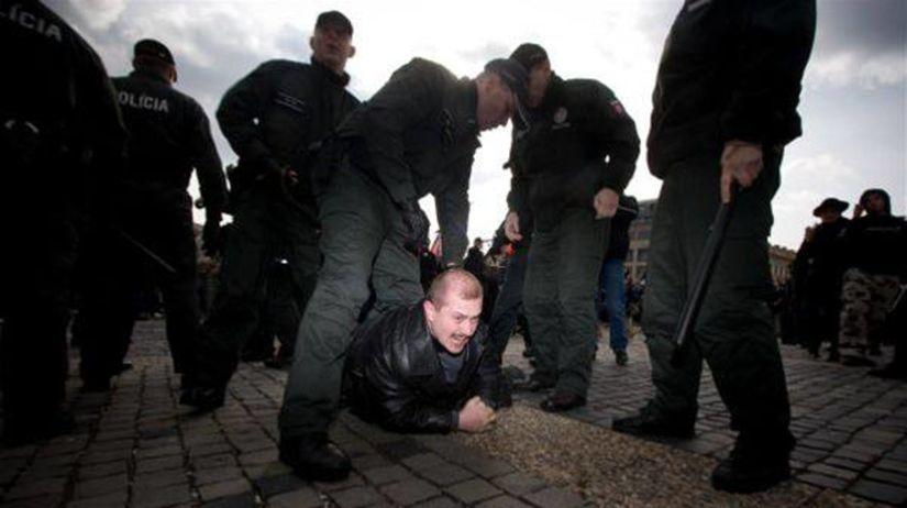 Zhromaždenie neonacistov v Bratislave