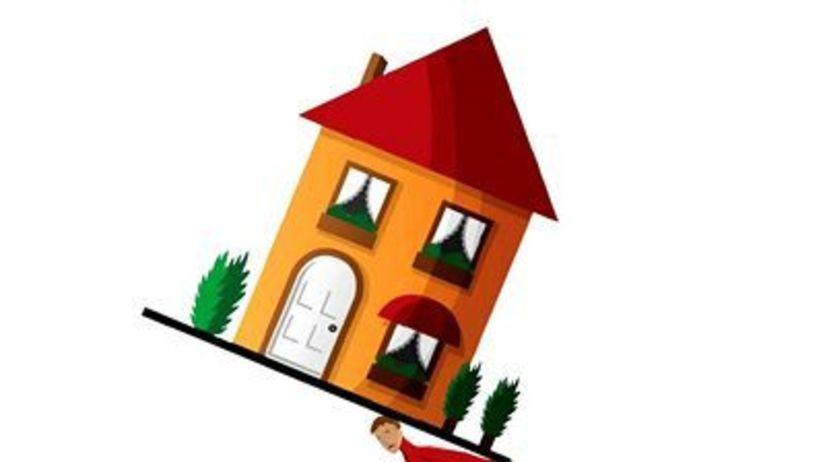 Hypotéka, dom, reality