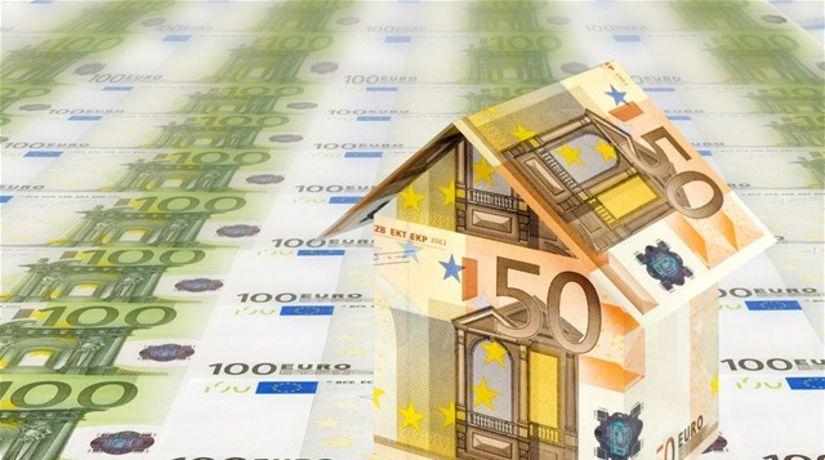 domček, euro, hypotéka, peniaze