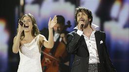 Nela Pocisková a Kamil Mikulčík