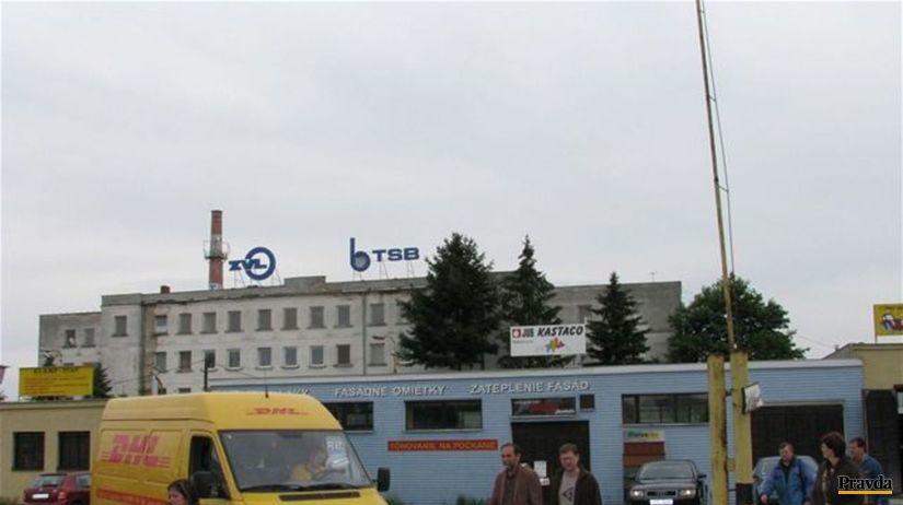 ZVL Prešov, fabrika