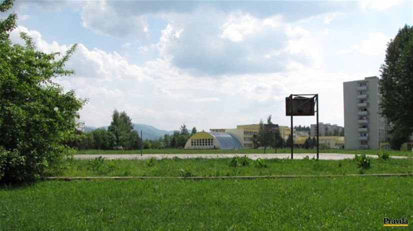 pozemok, Žilina, športová hala