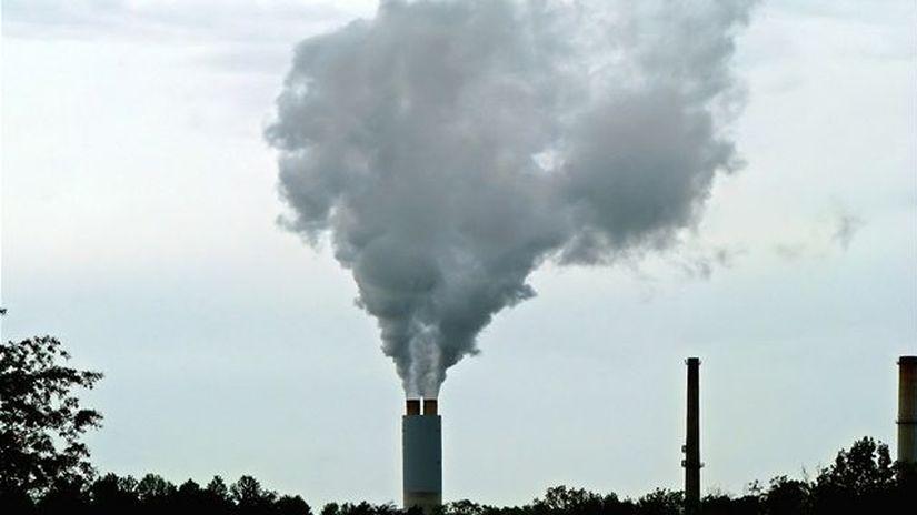 plyn, emisie, vzduch, znečistenie ovzdušia