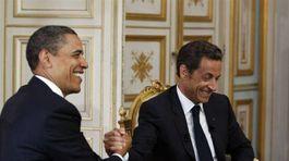 Obama, Sarkozy