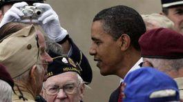 Normandia, Obama, oslavy