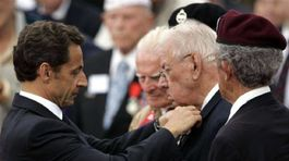 Normandia, oslavy, Sarkozy
