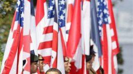 Normandia, oslavy, Obama, Charles