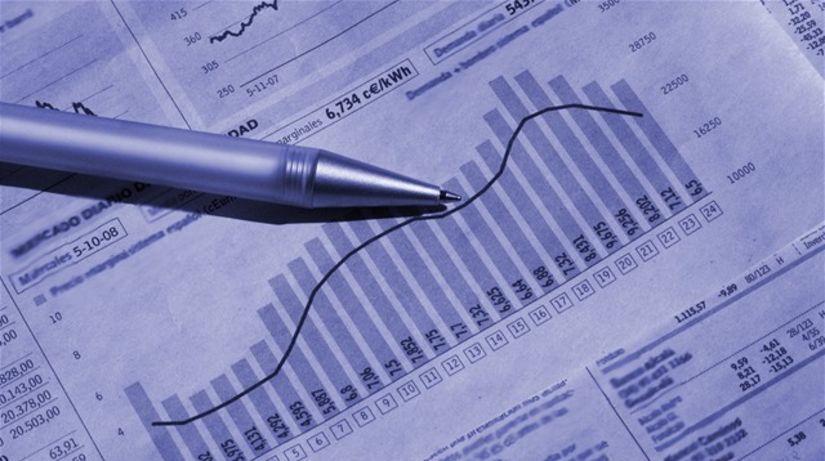 graf, investovanie, fondy, akcie, noviny