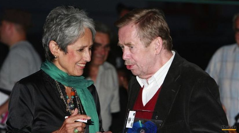 Havel, Joan Baez
