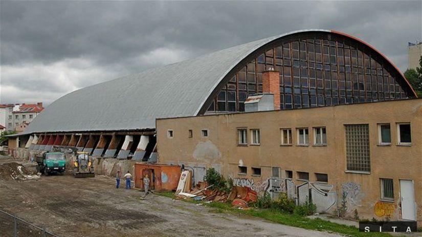 zimný štadión, Banská Bystrica