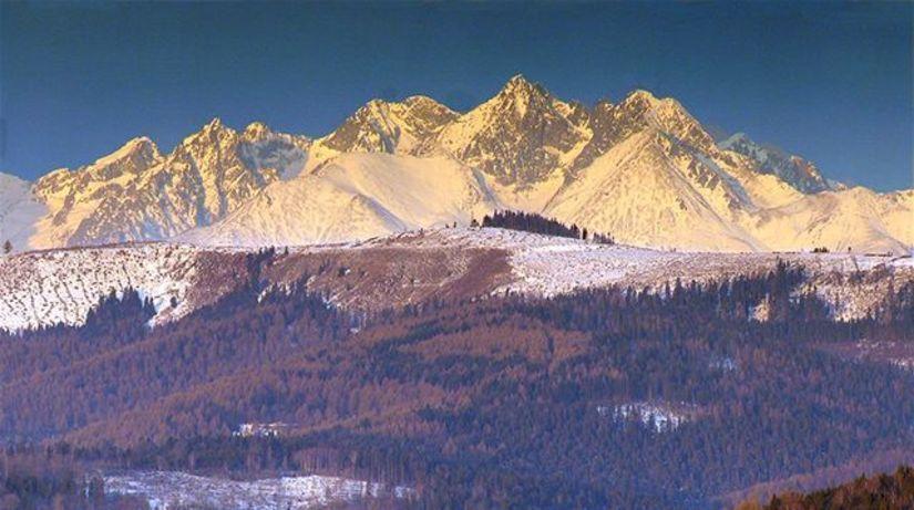 hory, Vysoké Tatry, zima