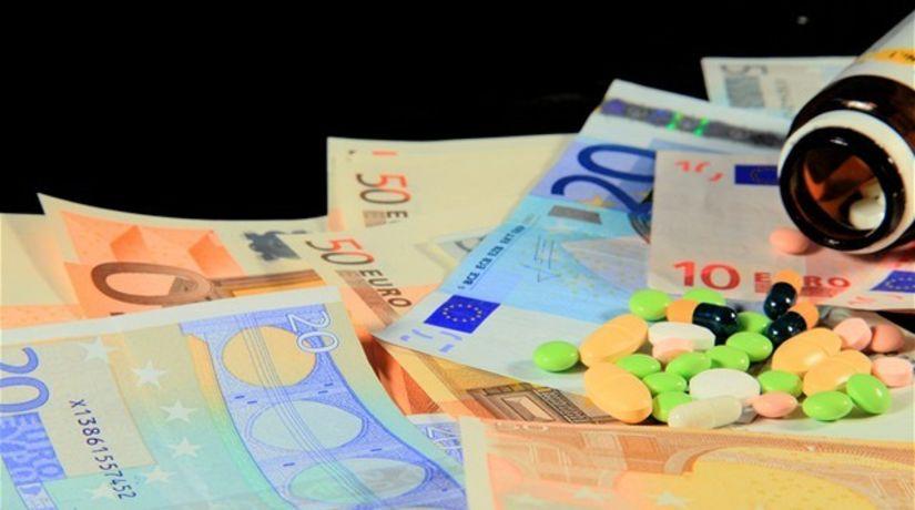 lieky, peniaze, euro