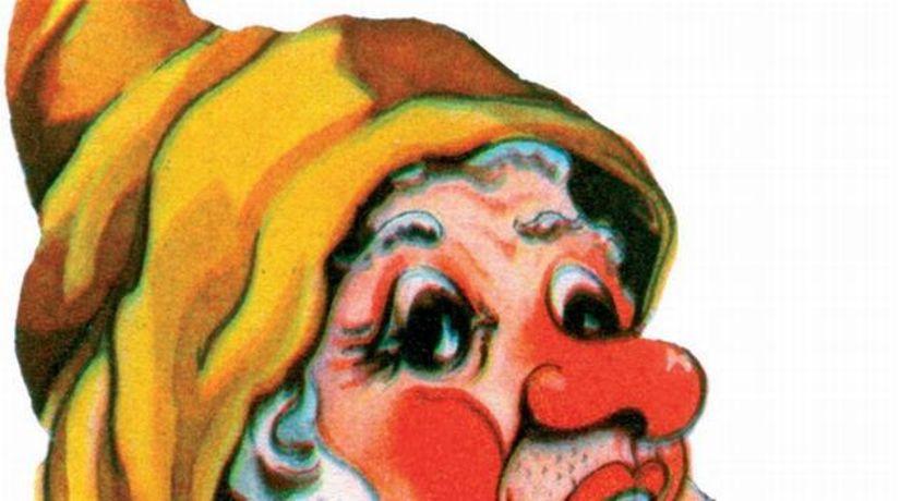 trpaslík duk ilustračné gýč