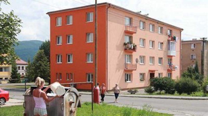 Žarnovica, bytový dom, reality