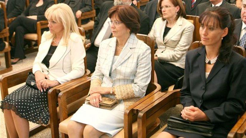 Svetlana Ficová, Gašparovičová