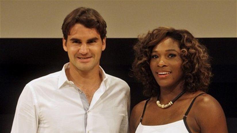 Federer Serena Williamsová