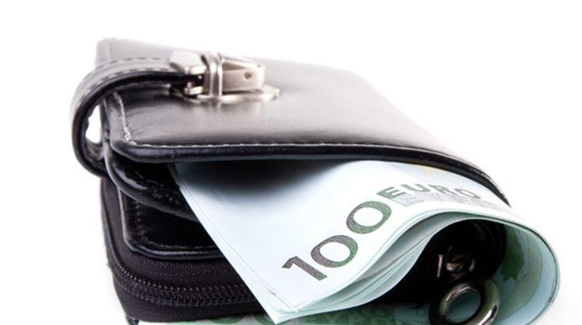 peňaženka, euro, peniaze, bankovky
