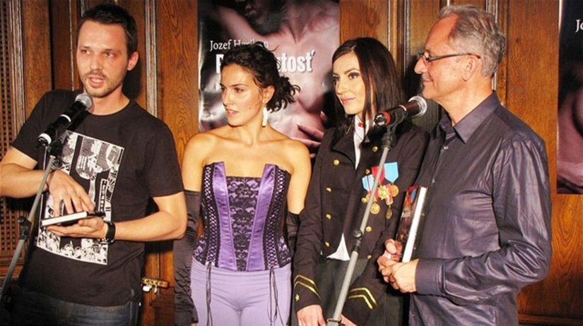 Zľava: Martin Pyco Rausch, Lucia Siposová,...