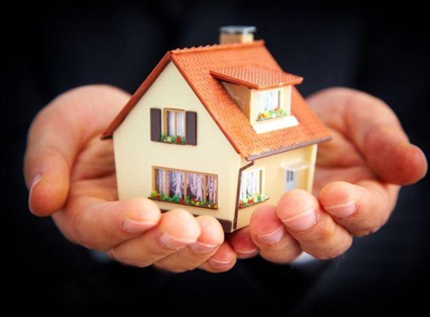 domček, ruky, hypotéka, dom