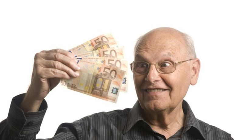 dôchodca, euro, dôchodok