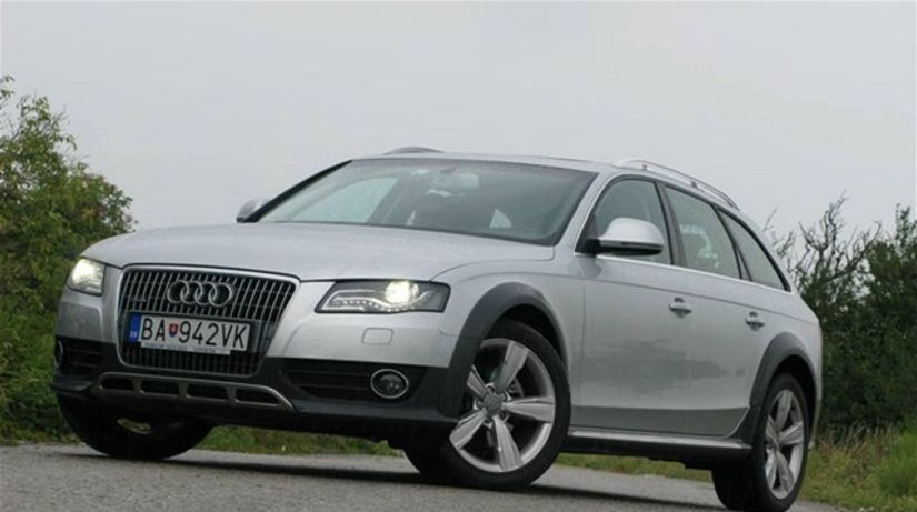 test audi a4 allroad quattro 2 0 tdi testy auto. Black Bedroom Furniture Sets. Home Design Ideas