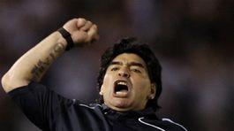 Diego Maradona, Argentína