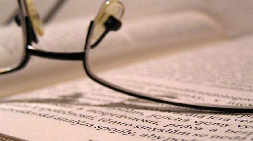 kniha, učebnica, okuliare, študent, spisovateľ,...