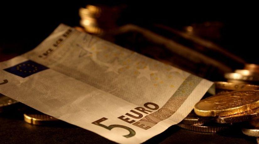 peniaze, euro, bankovky, mince