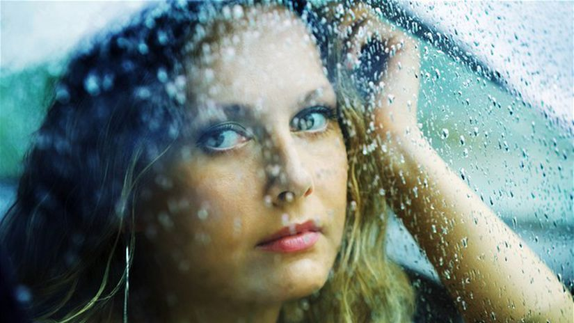 depresia - smútok - dezilúzia - smutná žena,...