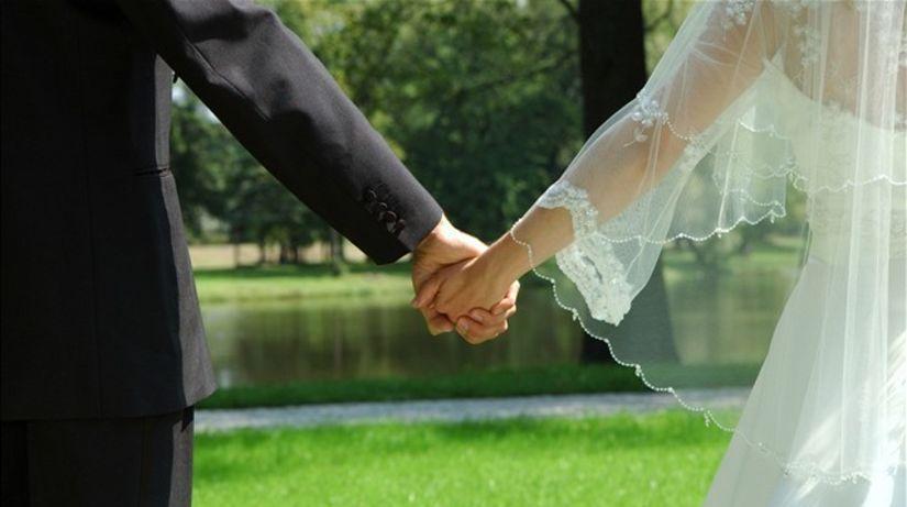 svadba, manželia, rodina